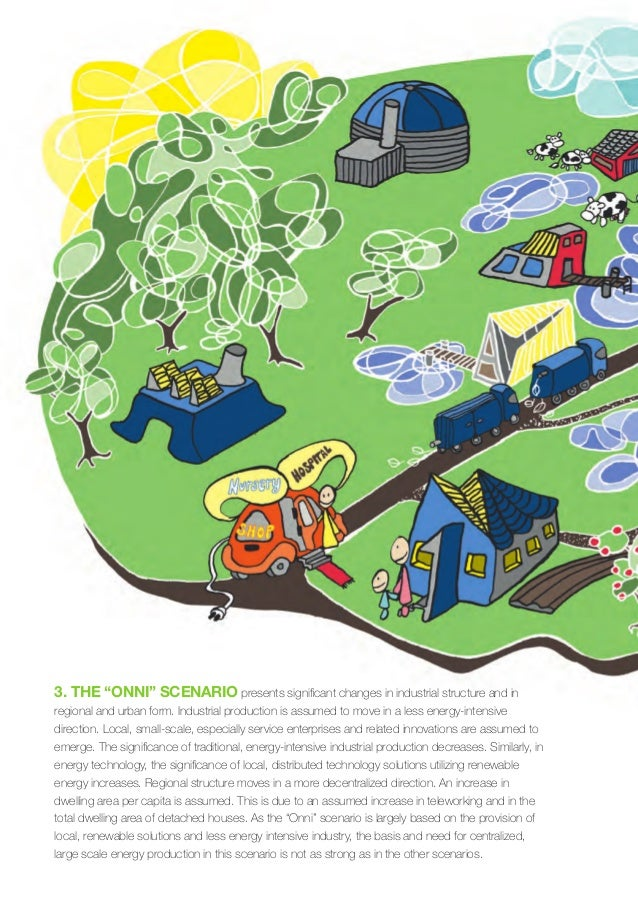 28 / Low Carbon Finland 2050 – VTT clean energy technology strategies for society Figure 4. The development of the buildin...