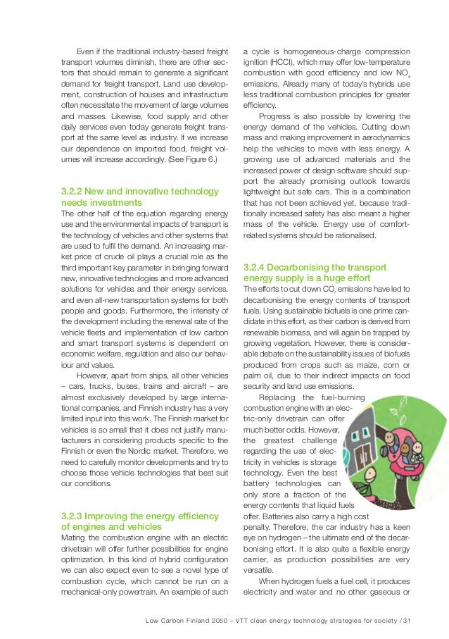 Low Carbon Finland 2050 – VTT clean energy technology strategies for society / 37 Table 6. The main drivers regarding assu...