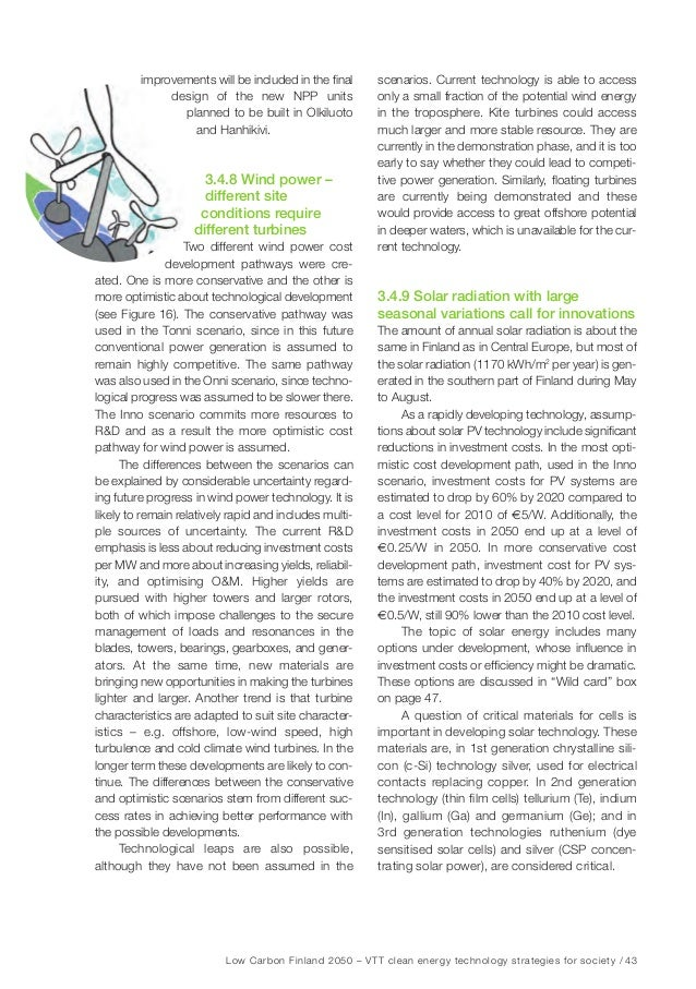 Low Carbon Finland 2050 – VTT clean energy technology strategies for society / 49 Figure 20. Electricity supply in Europe ...