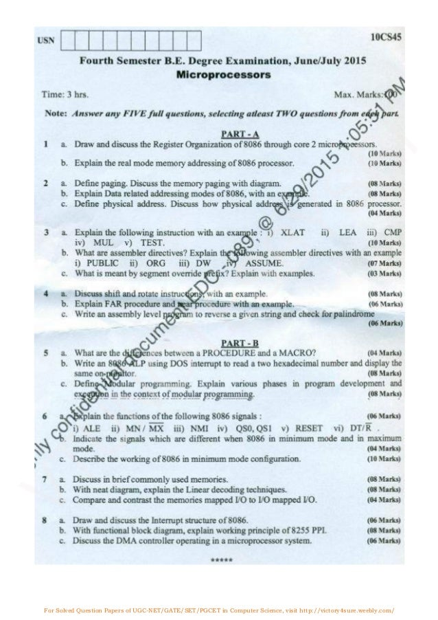 an essay on the microprocessors of the computer For solved question papers of ugc-net/gate/set/pgcet in computer science, visit microprocessors solved paper june- 2014.