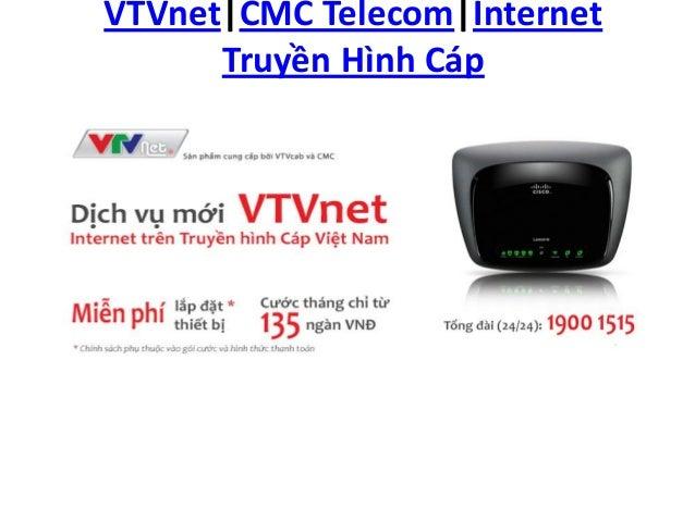VTVnet CMC Telecom Internet Truyền Hình Cáp