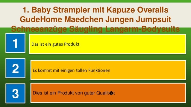 Baby Strampler mit Kapuze Overalls GudeHome Maedchen Jungen Jumpsuit Schneeanz/üge S/äugling Langarm-Bodysuits Baumwolle Spielanzug