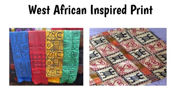 West African Inspired Print