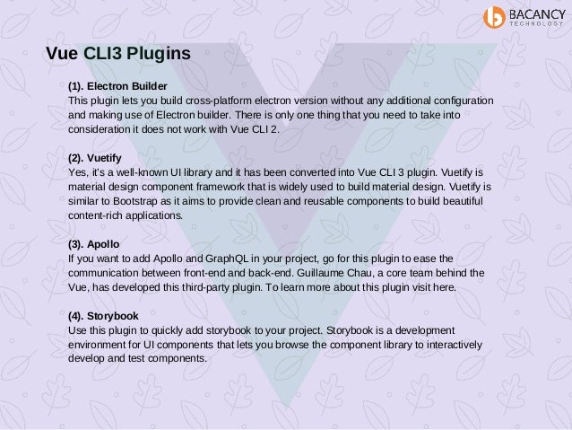 Vue js & vue cli 3 plugins to boost up the performance of