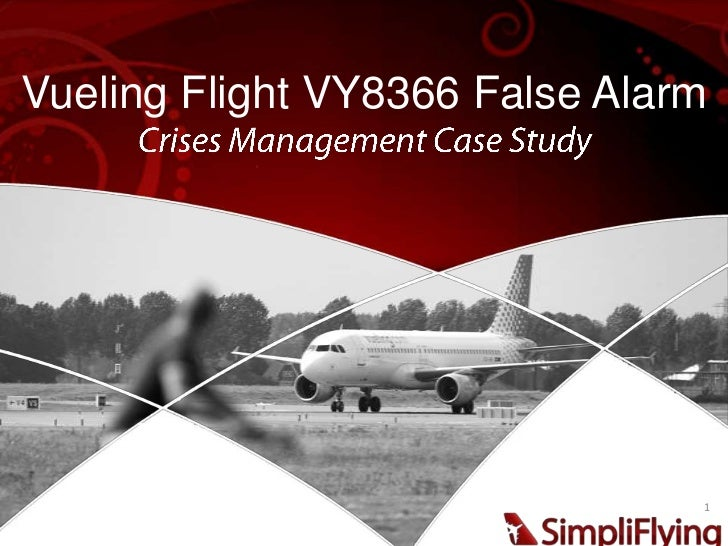 Vueling Flight VY8366 False Alarm                                1