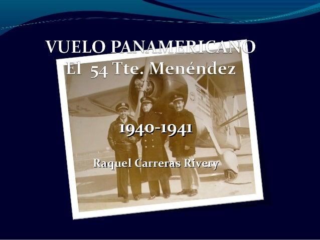 1940-19411940-1941 Raquel Carreras RiveryRaquel Carreras Rivery