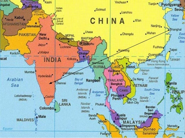 Vuelta Al Mundo China India