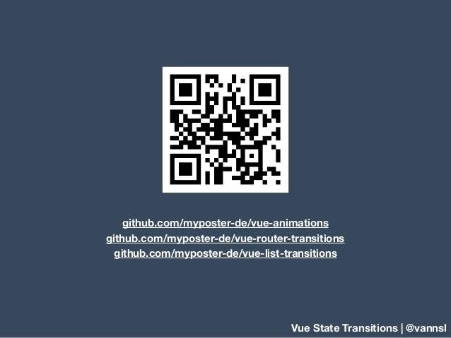 Vue - State Transitions Slide 2