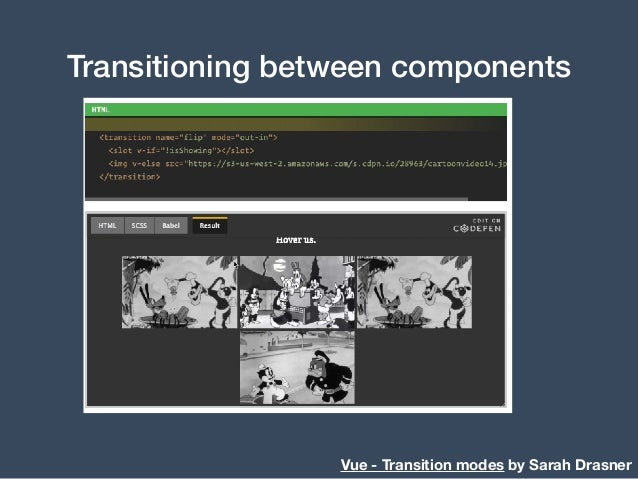 Vue - State Transitions