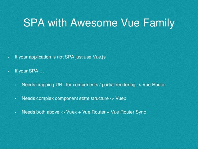 Vue 2 0 + Vuex Router & Vuex at Vue js