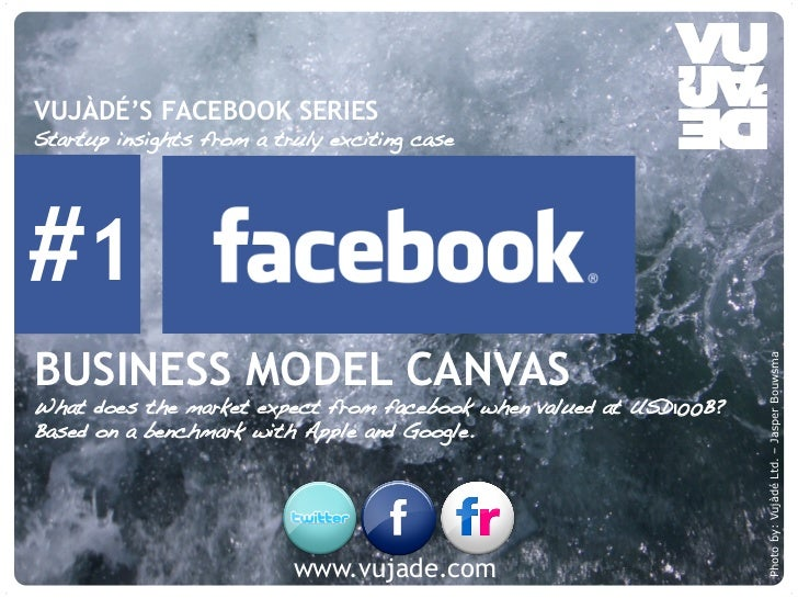 VUJÀDÉ'S FACEBOOK SERIESStartup insights from a truly exciting case!#1BUSINESS MODEL CANVAS                               ...
