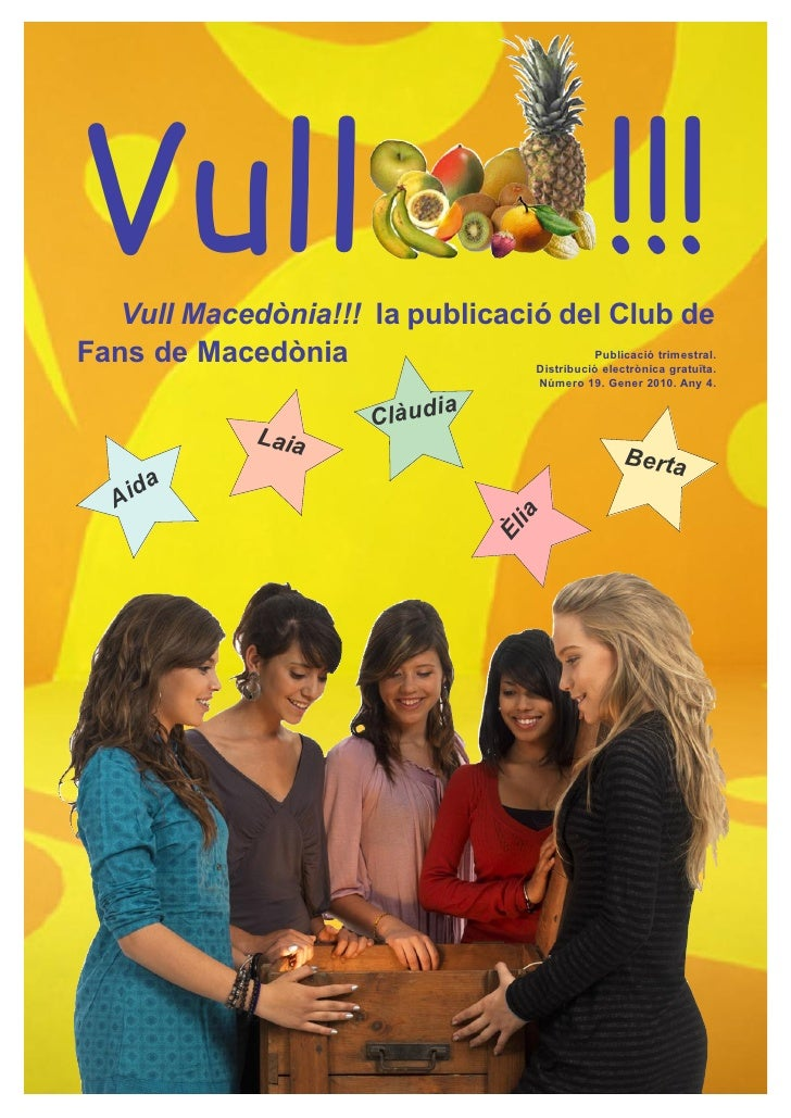 Vull   Vull Macedònia!!! la publicació del Club de                                                            !!!Fans de M...