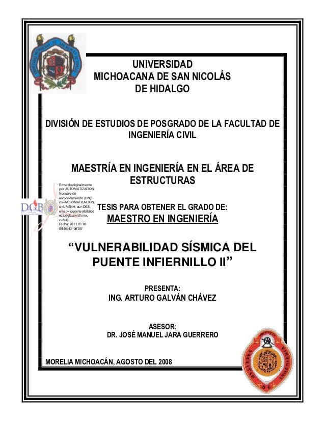 UNIVERSIDAD                       MICHOACANA DE SAN NICOLÁS                              DE HIDALGODIVISIÓN DE ESTUDIOS DE...