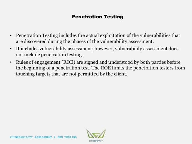 Penetration test authorization
