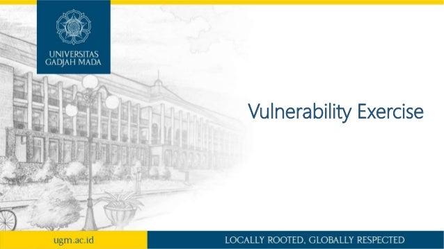 Vulnerability Exercise