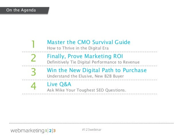 The Vulnerable CMO: How to Thrive in the Digital Era Slide 3