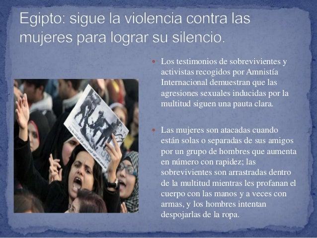  Los testimonios de sobrevivientes y activistas recogidos por Amnistía Internacional demuestran que las agresiones sexual...