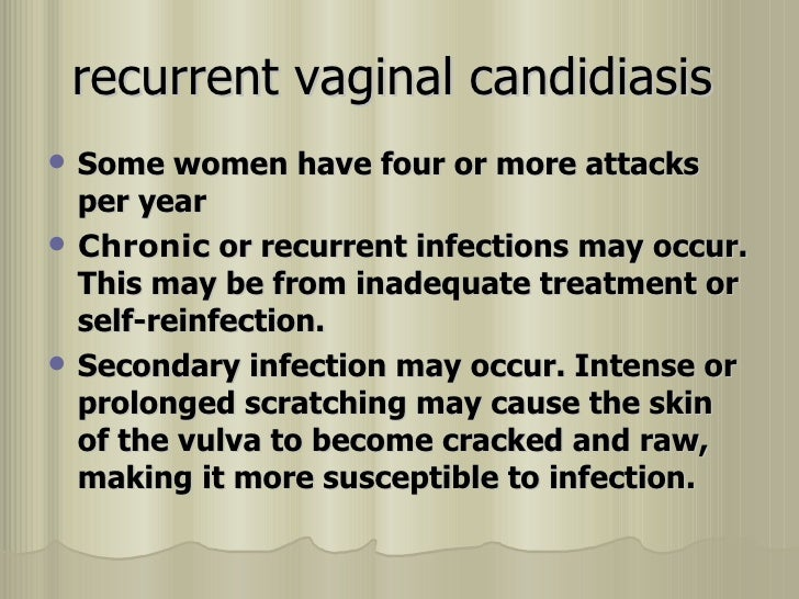 Chronic vaginal infection