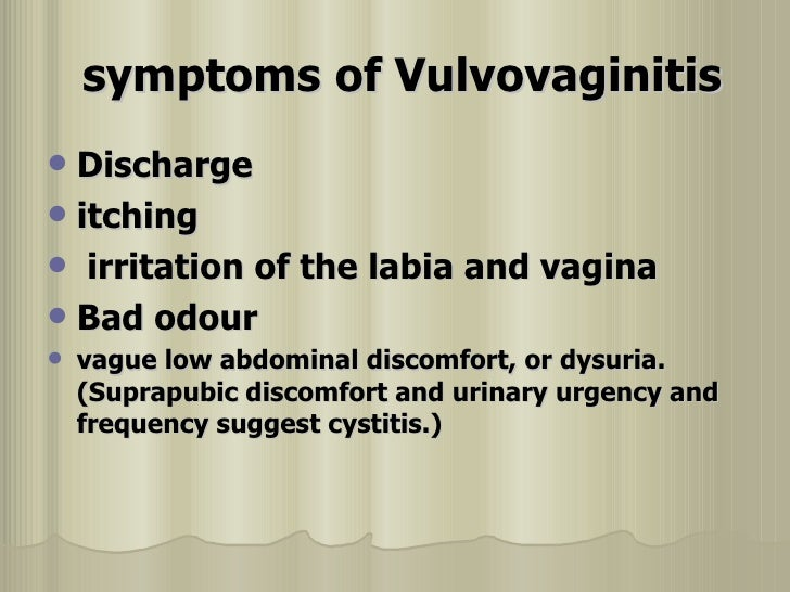 vulvo vaginal infection, Human Body