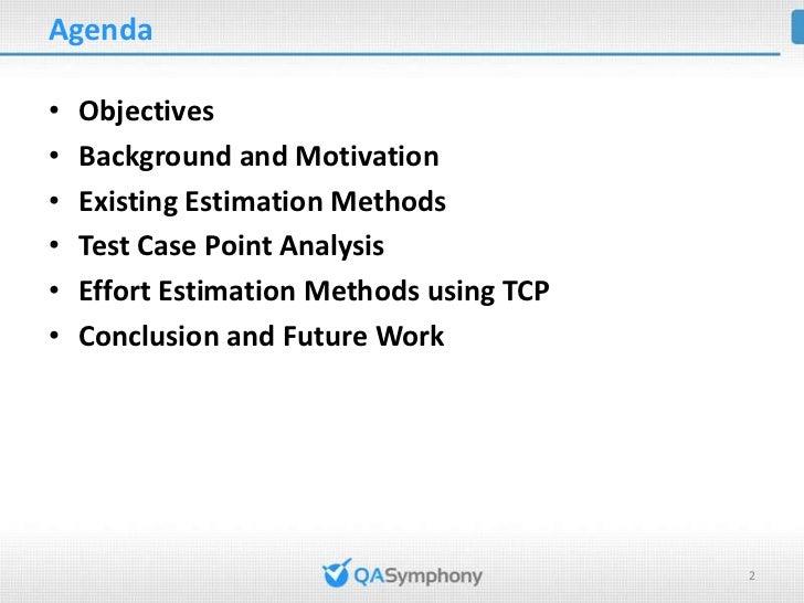 Test Case Point Analysis Slide 2