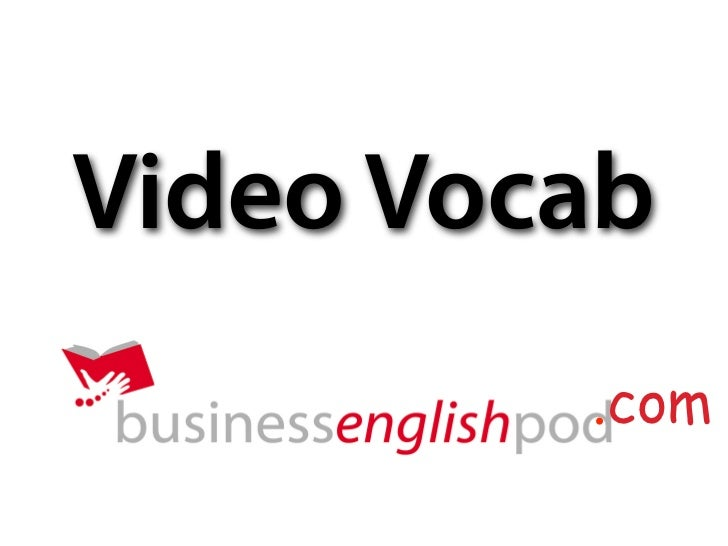 Video Vocab          .com