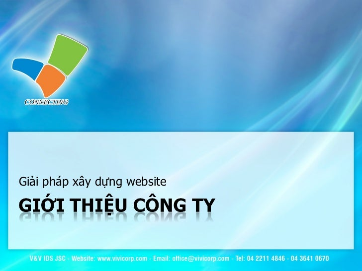 Giải pháp xây dựng website