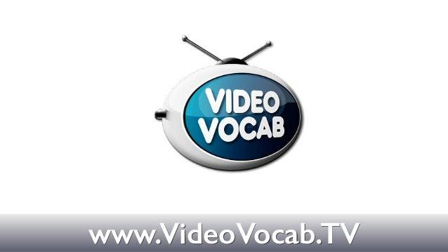 Textwww.VideoVocab.TV