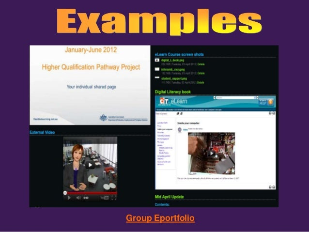 getting started with eportfolios 130813