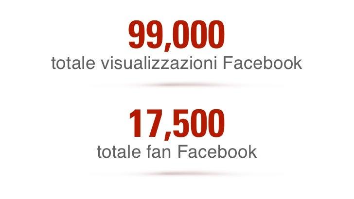 5,000                           19,000       followers Twitter         visualizzazioni Youtube video             25,500   ...