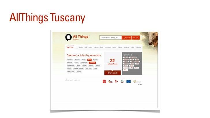 Talk2Tuscany                    31