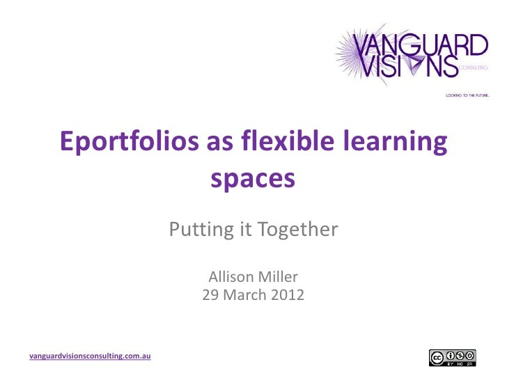 Eportfolios as flexible learning                   spaces                                   Putting it Together           ...