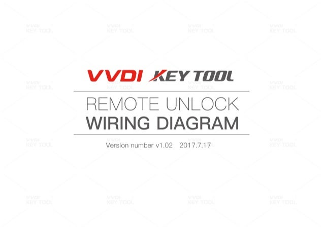 vvdi key tool remote unlock wiring diagram – Key Wiring Diagram