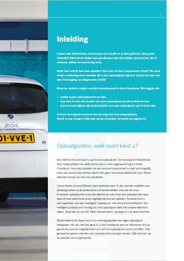 Brochure Oplaadpunten Elektrisch Vervoer Bij Vereniging Van Eigenaren