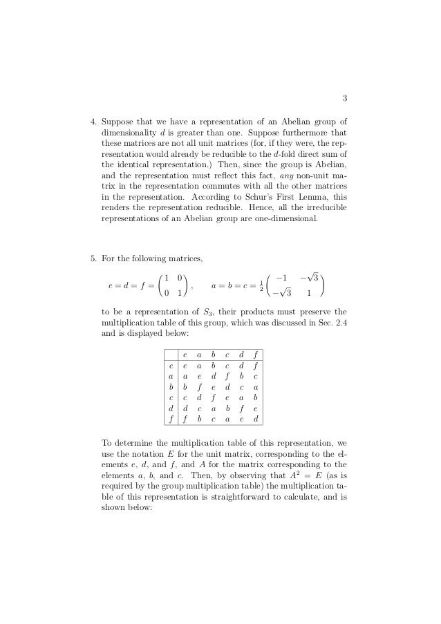 group theory problems and solutions pdf