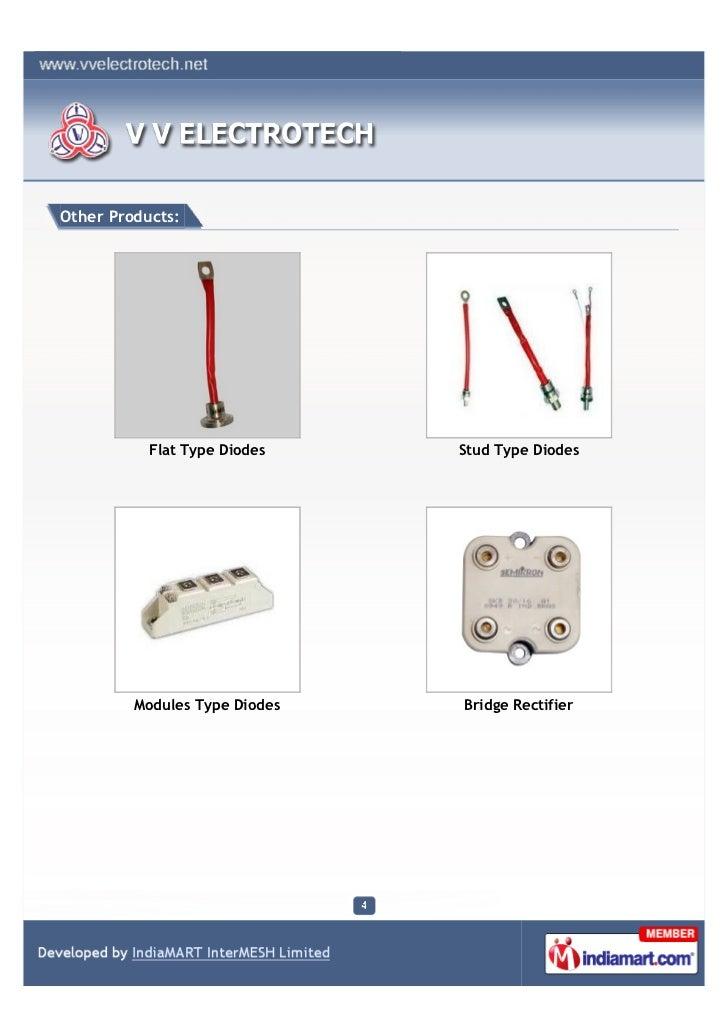 V  V  Electro Tech, Vadodara, Semiconductor And Fuses