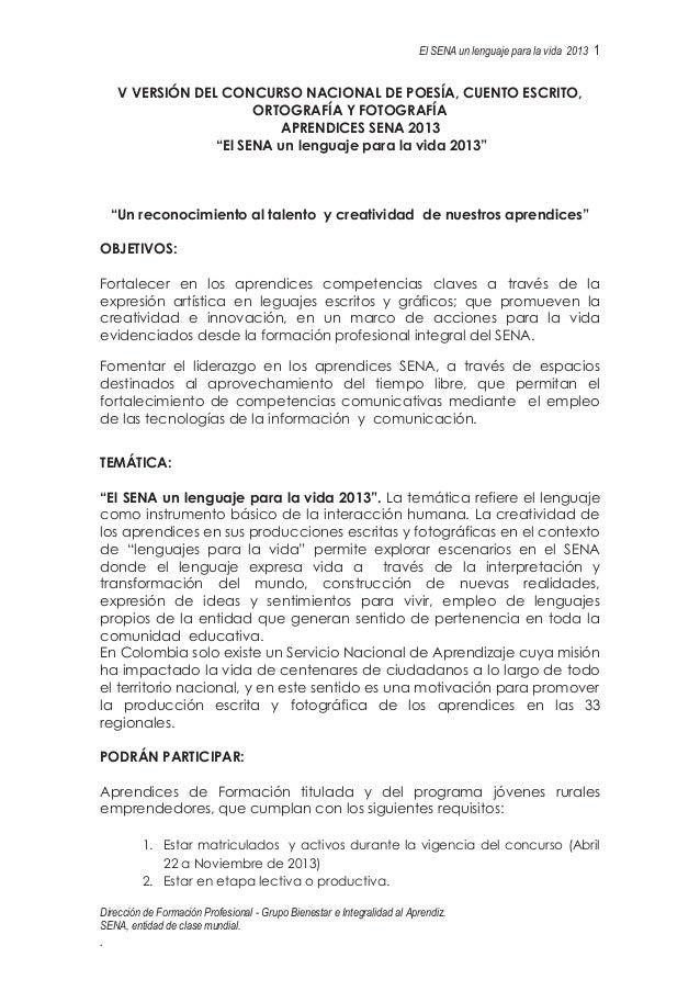 Dirección de Formación Profesional - Grupo Bienestar e Integralidad al Aprendiz.SENA, entidad de clase mundial..El SENA un...