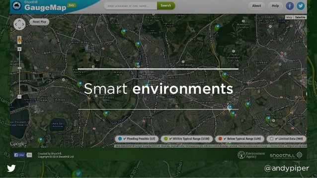 @andypiper Smart environments