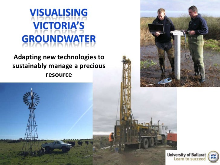 Adapting new technologies tosustainably manage a precious           resource