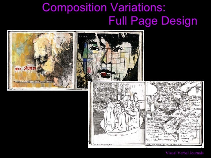 Composition Variations:    Full Page Design