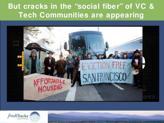 """But cracks in the """"social fiber"""" of VC & Tech Communities are appearing"""