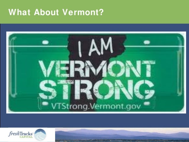 What About Vermont?