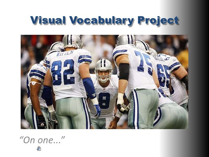 """Visual Vocabulary Project<br />""""On one...""""<br />"""