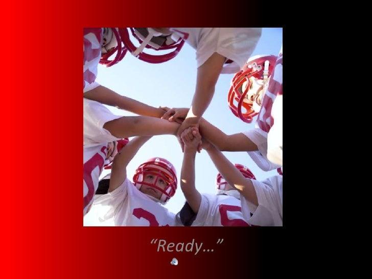 """""""Ready…""""<br />"""