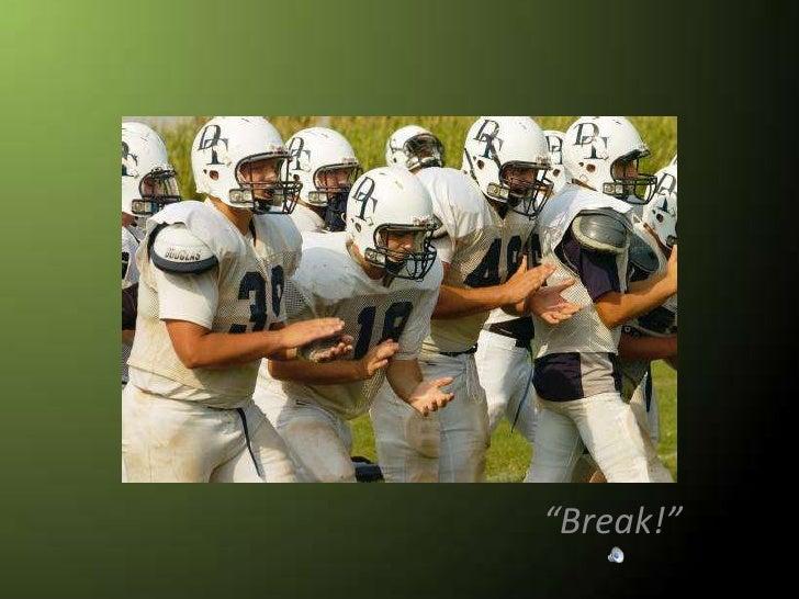 """Break!""<br />"