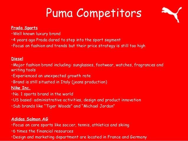puma brand information