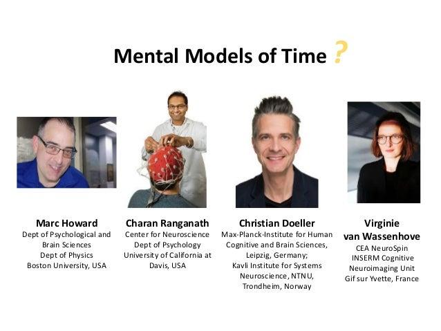 Mental Models of Time ? Marc Howard Dept of Psychological and Brain Sciences Dept of Physics Boston University, USA Christ...