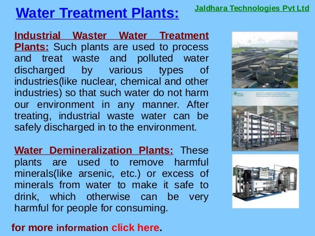 Jaldhara Technologies Pvt Ltd Water Treatment Plants: for more information click here. Industrial Waster Water Treatment P...