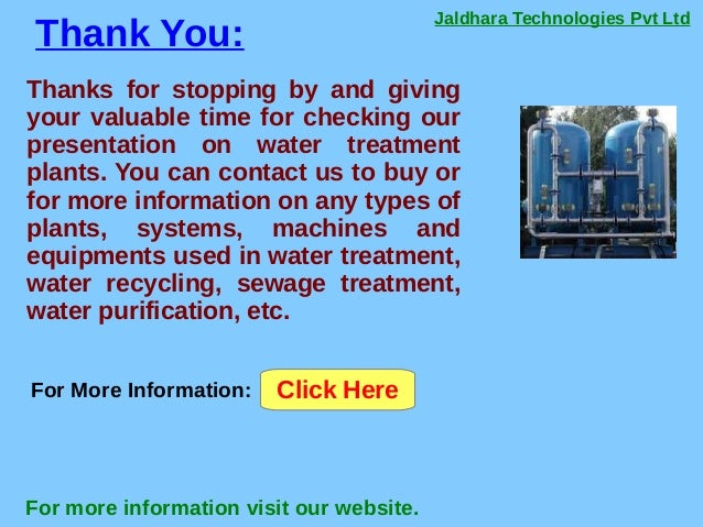 Jaldhara Technologies Pvt Ltd Thank You: For more information visit our website. Thanks for stopping by and giving your va...