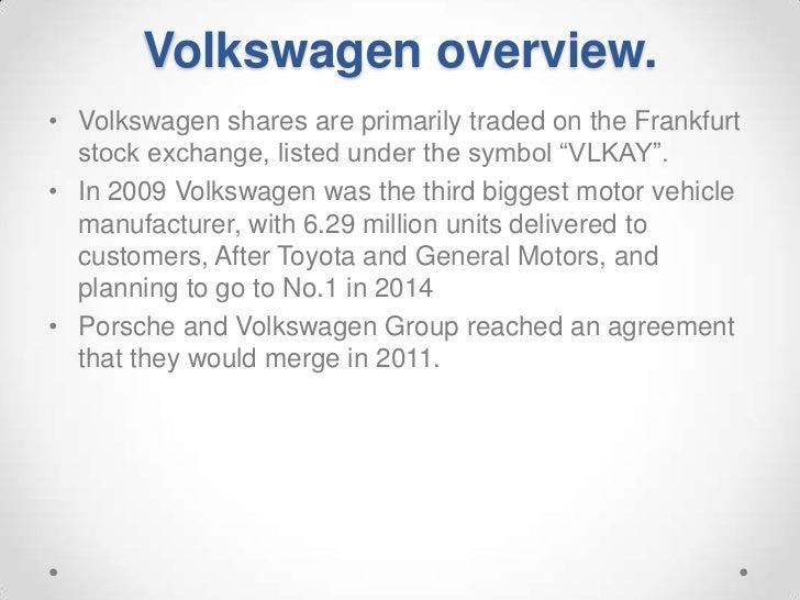 Volkswagen Ag Financial Analysis