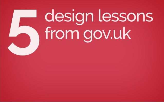 design lessons from gov.uk5